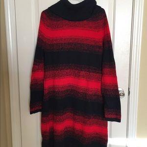 Tommy Hilfiger turtle neck sweater dress